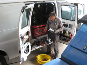 Houston TX Industrial Sweeper Scrubber Service Repair