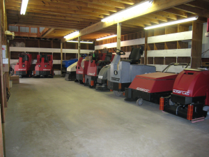 Industrial Sweeper Scrubber Rental Baytown City TX