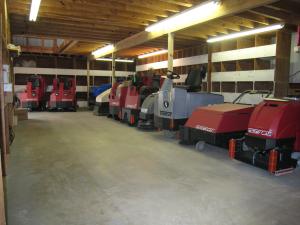 Industrial Sweeper Scrubber Rental Brazoria County TX