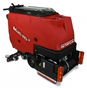 Factory Cat MINI-HD Scrubber Sweeper Houston TX