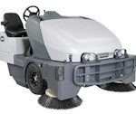 Nilfisk Advance SW8000 Rider Sweeper LPG Diesel Dust Control Houston TX